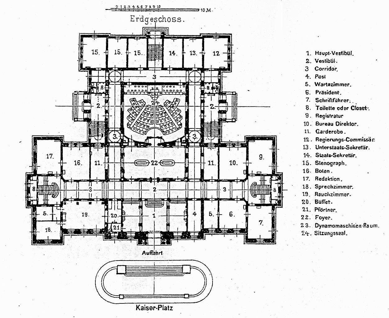 Fileehemaliges Landesausschuss Gebude In Straburg 1888 Und 1892