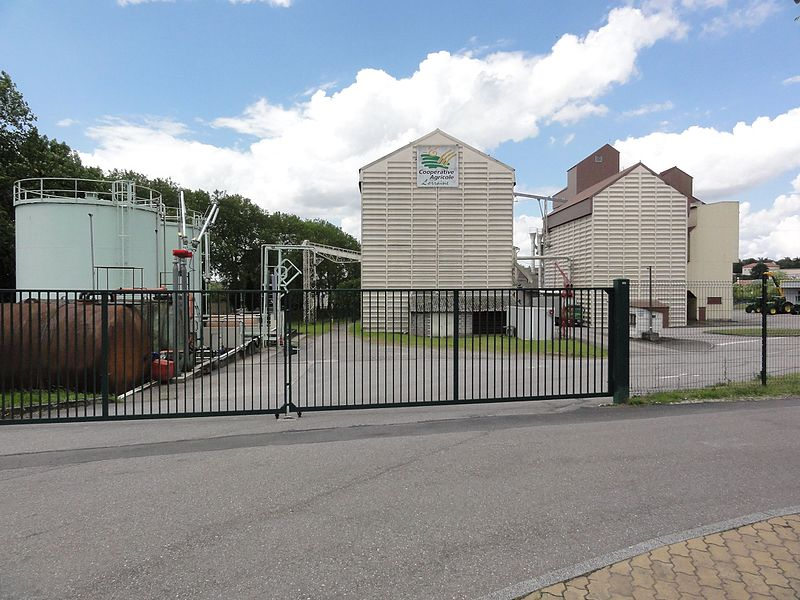 Einville-au-Jard (M-et-M) cooperative agricole Lorraine