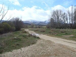 Drovers' road - Cañada Real Leonesa Occidental in Province of Ávila, Spain