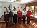 El distrito de Hortaleza rinde homenaje a la escritora ucraniana Lesya Ukrainka 02.jpg