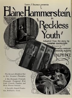 <i>Reckless Youth</i> (1922 film) 1922 film by Ralph Ince