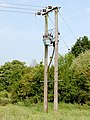 Electricity transformer east of A426 at Hill - geograph.org.uk - 1339883.jpg