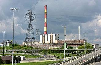 Żerań Power Station - Image: Elektrociepłownia Żerań 2018c