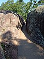 Elephant Rocks squeeze trail.JPG