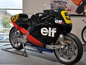 Elf Aquitaine - Elf Honda HRC 500 cc Grand Prix racing motorcycle of the mid-1980s
