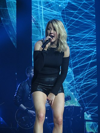 Premios 40 Principales for Best International Song - 2015 award winner for Love Me Like You Do, Ellie Goulding.