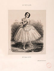 Emma Livry in Le Papillon