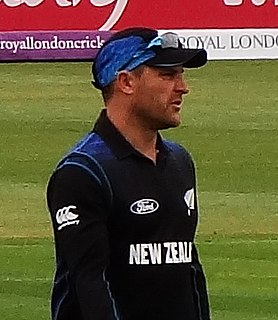 Brendon McCullum former New Zealand cricketer