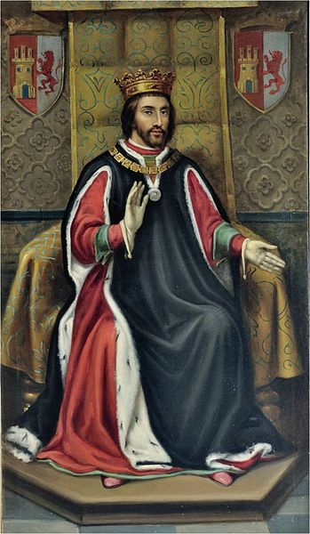 Archivo: Enrique III de Castilla (Ayuntamiento de León) jpg.