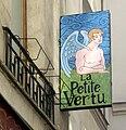 Enseigne La Petite Vertu, Rue des Vertus, Paris 3.jpg