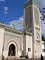 Entrée mosquée rue George-Desplat.JPG