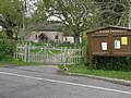Entrance gate to St Peters Church at Twineham - geograph.org.uk - 1273568.jpg