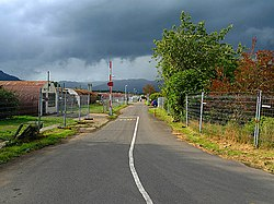 Entrance to Cultybraggan Camp - geograph.org.uk - 1451876.jpg
