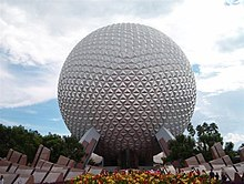 Spaceship Earth at Walt Disney World, a geodesic sphere