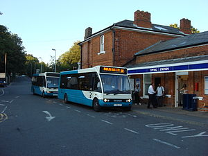 Epping, Essex - A route 541 bus at Epping Tube Station