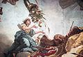 Erhebung des Großen Kurfürsten in den Olymp (van Loo) - weibliche Allegorie mit Ährenkranz und dem brandenburgischen Adler.jpg