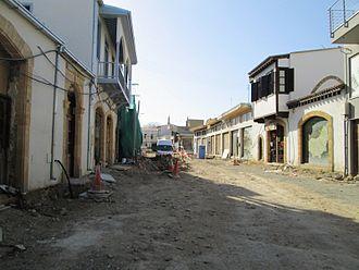 Hermes Street - Regeneration project in 2013.