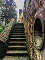 Escales a los jardindes desde el Claustro Antiguo del ex Convento Desierto de los Leones.jpg