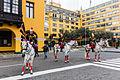 Escolta presidencial, Plaza de Armas, Lima, Perú, 2015-07-28, DD 27.JPG