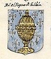 Escudo da Galiza no Libro de escudos de diversos linajes españoles (séc. XVIII).jpg
