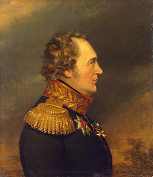 Ivan Essen - Studio of George Dawe, Military Gallery of the Winter Palace, Hermitage Museum (St. Petersburg)