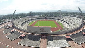 Estadio Olímpico Universitario - Image: Estadio olimpico universitario unam