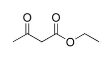 Struktur von Acetessigester