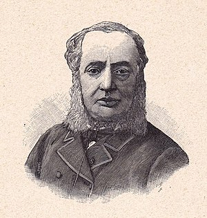 Eugène Bouchut - Engraving of French pediatrician Eugène Bouchut, by Henri Brauer. From Angelo Mariani and Joseph Uzanne (1894). Figures contemporaines tirées de l'Album Mariani, Volume I. Paris:Ernest Flammarion.