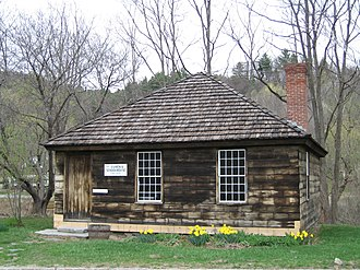 Springfield, Vermont - The Eureka Schoolhouse (1790), Vermont's oldest one-room school