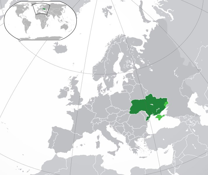 Europe-Ukraine (disputed territories, 2)