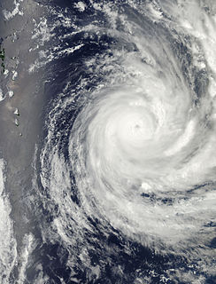 Cyclone Evan Category 4 South Pacific cyclone in 2012