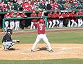 Evansville at Arkansas baseball, 2013 011.jpg