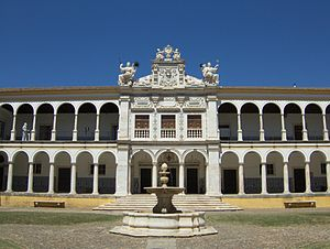 University of Évora - Colégio do Espírito Santo's courtyard