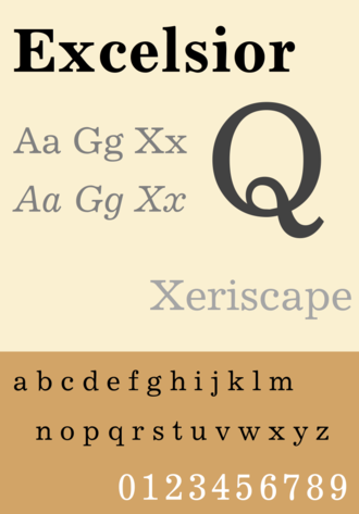 Legibility Group - Excelsior, a member of the Legibility Group in digitisation