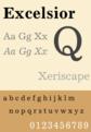 Excelsior typeface sample.png