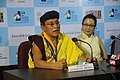 Executive Producer and His Holiness Gyalwang Drukpa and Hollywood Actress, Michelle Yeoh addressing the Press at the 44th India International Film Festival of India (IFFI-2013), in Panaji, Goa on November 30, 2013.jpg