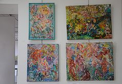 Exhibition of Natalia Chernogolova in Minsk Palace of Art 22.06.2014.JPG