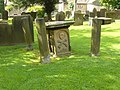 Eyam Church gravestone - geograph.org.uk - 941064.jpg