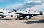 F-18A Hornet of VFA-132 at Andrews AFB 1990.JPEG