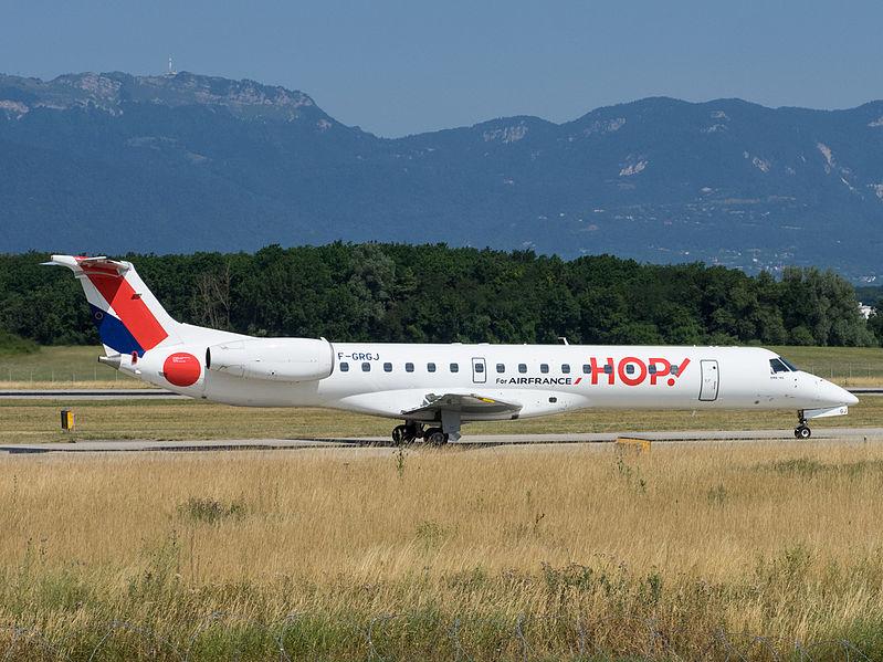 Aéroport de Rouen-Boos - Page 2 799px-F-GRGJ%2C_Embraer_ERJ-145%2C_HOP%21_%2819847731552%29