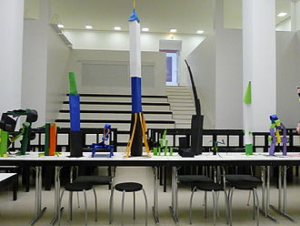 German Architecture Museum - Interior of the museum