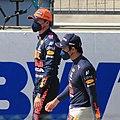 FIA F1 Austria 2021 Post Qualifying Scene Red Bull Drivers 3.jpg