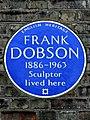 FRANK DOBSON 1886-1963 Sculptor lived here.jpg