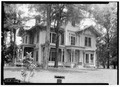 FRONT (W) AND NORTH SIDE - Walton-Bruce House, State Highway 25, Dayton, Marengo County, AL HABS ALA,46-DAYT,3-1.tif