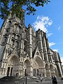 Façade occidentale cathédrale Saint-Étienne Bourges 04.jpg