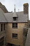 Façade ouest de la maison de l'Artichaut (Le Mont-Saint-Michel, Manche, France).jpg