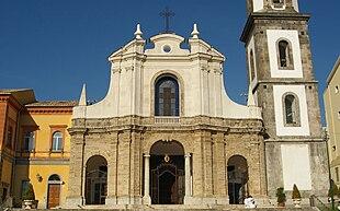 Facciata della chiesa di San Francesco e Sant'Antonio