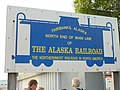 Fairbanks old railway station plate 2 2011.jpg