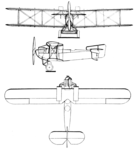 Fairey Fawn 3-view Les Ailes March 25, 1926.png