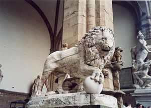 Medici lions - Fancelli's ancient lion